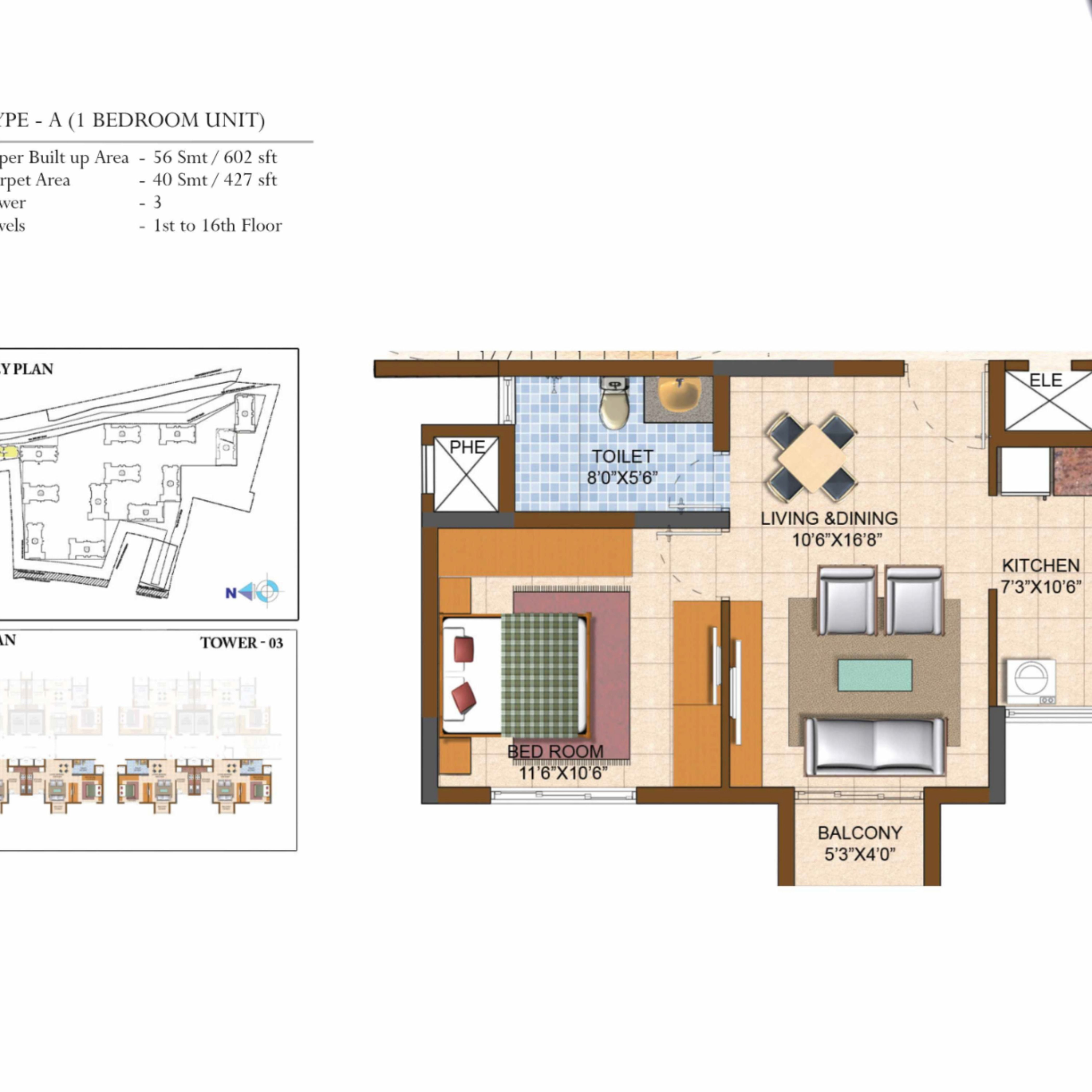 Prestige Royale Gardens Unit Plans In 2020 The Prestige Unit Plan Residential Apartments
