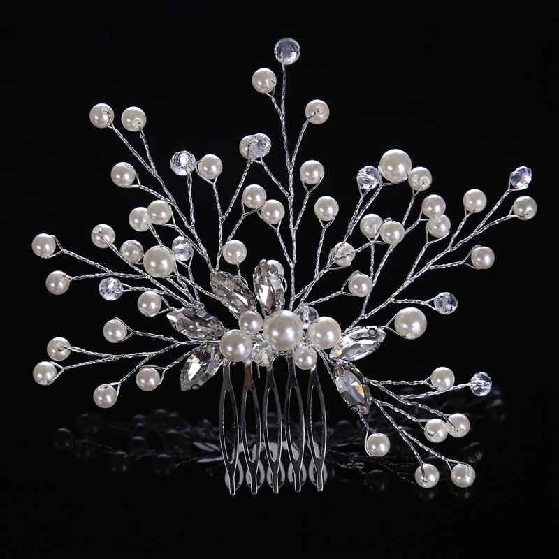 Bride Wedding Imitation Pearls Crystal Hair Comb Leaves Flowers Rhinestones Hair Accessories Handmade Bridemaid Hair Jewelry B    !!!Attention!!! valid discount 29.08% buy now for: 2.78$ #bridemaidshair Bride Wedding Imitation Pearls Crystal Hair Comb Leaves Flowers Rhinestones Hair Accessories Handmade Bridemaid Hair Jewelry B    !!!Attention!!! valid discount 29.08% buy now for: 2.78$ #bridemaidshair