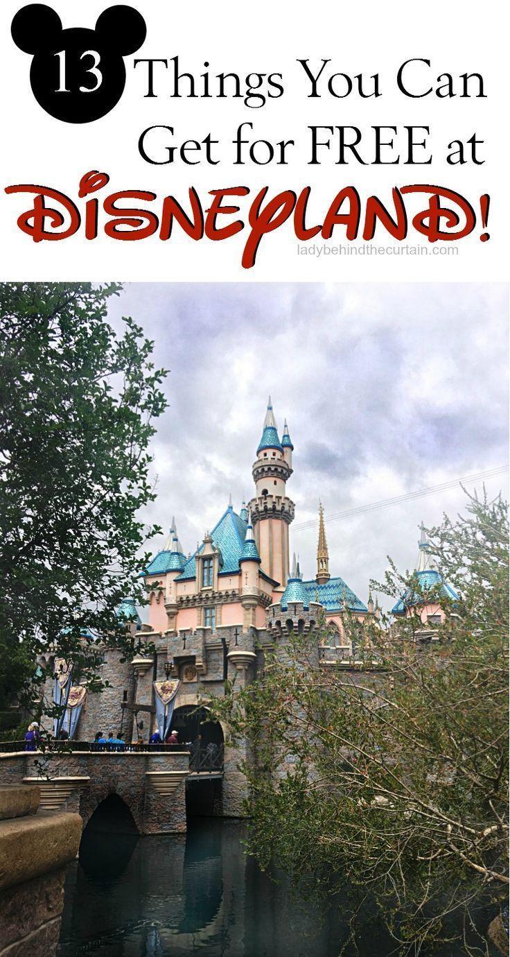 Photo of 13 Dinge, die Sie bei Disneyland KOSTENLOS bekommen können