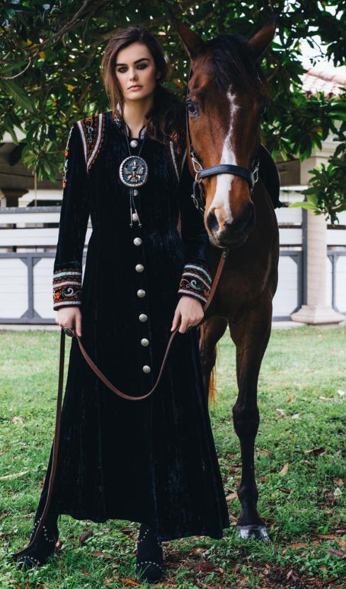 Double D Ranch Fall 2016 La Rioja Dress http://www.cowgirlkim.com/double-d-ranch-fall-2016-la-rioja-dress.html