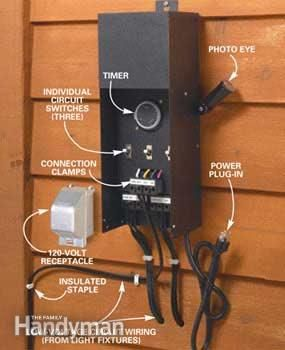 How to install deck lighting transformer photo decking and deck how to install deck lighting low voltage aloadofball Image collections