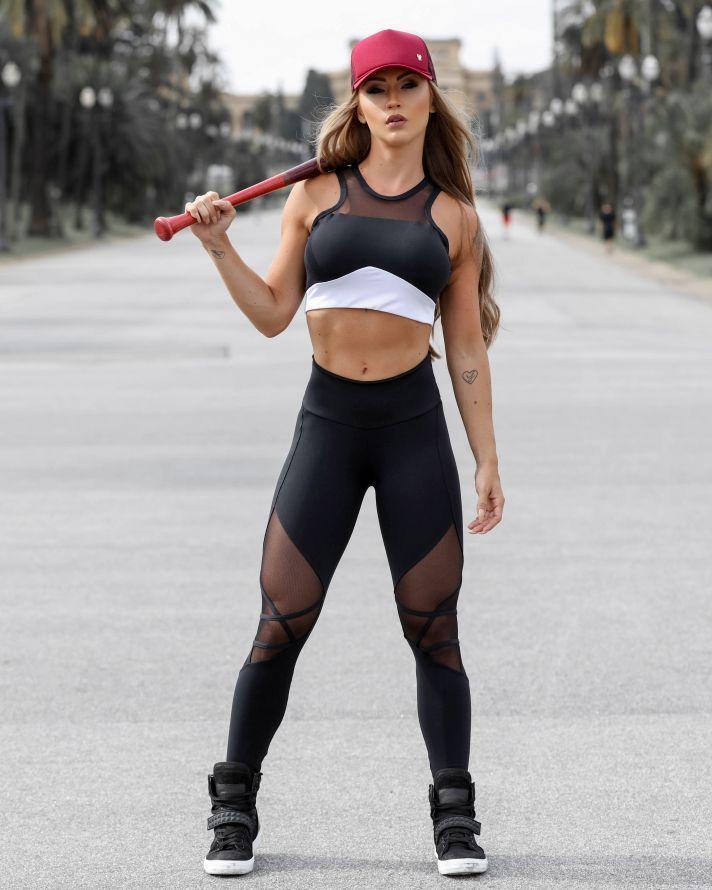a6621f456 Legging   Calça - Donna Carioca Looks Academia
