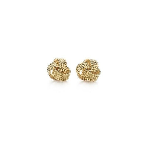 Tiffany Twist Knot Earrings 2 385 Brl Liked On Polyvore Featuring Jewelry