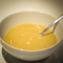 Cauliflower Leek and Bacon Soup recipe