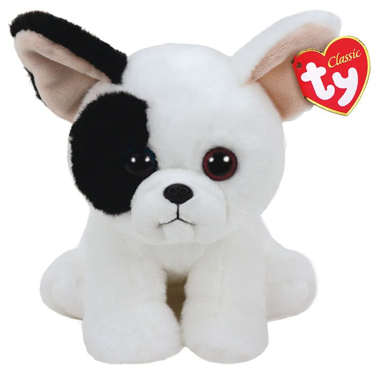d59919ce92b TY Beanie Baby Medium Marcel the French Bulldog Plush Toy