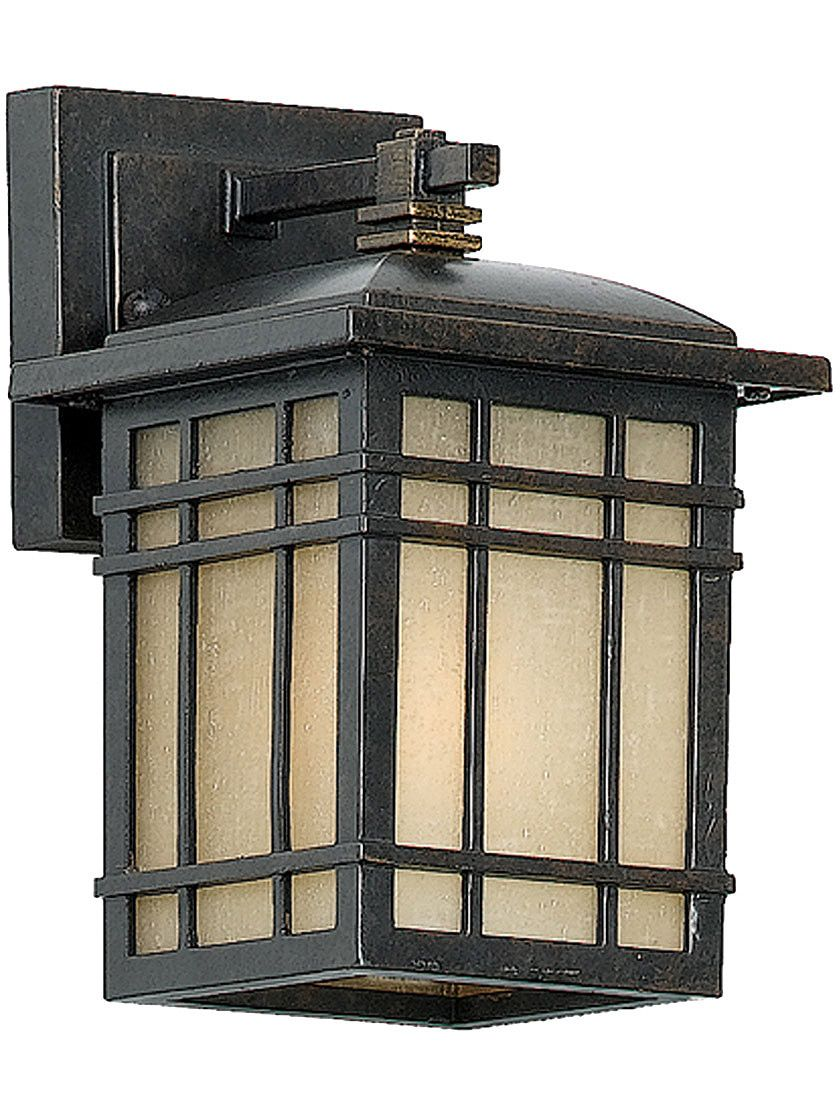 arts and crafts chandelier. arts and crafts lighting. hillcrest small wall lantern in imperial bronze chandelier