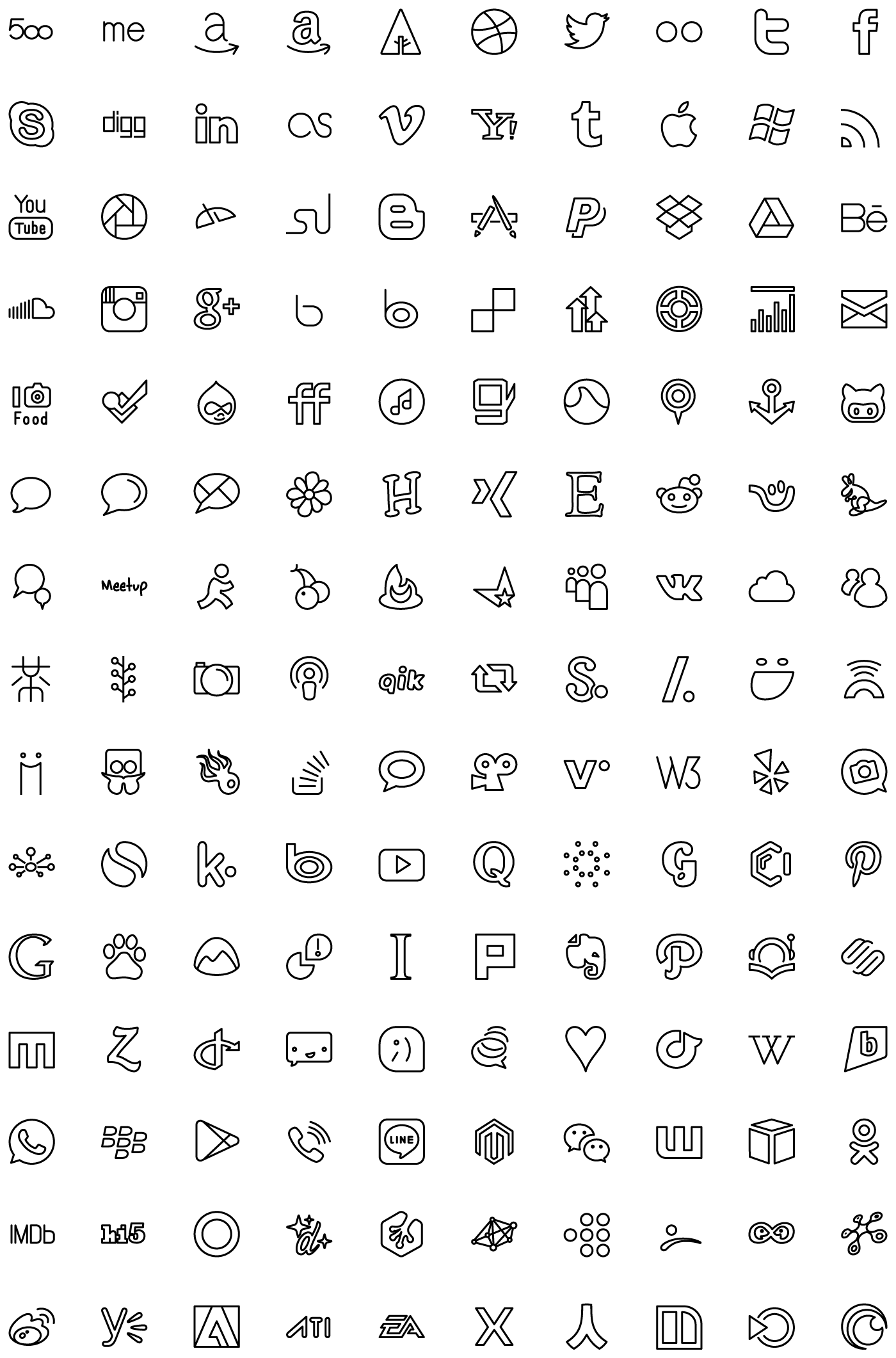 Streamline Ultimate Pack 4000 Vector Icons for iOS