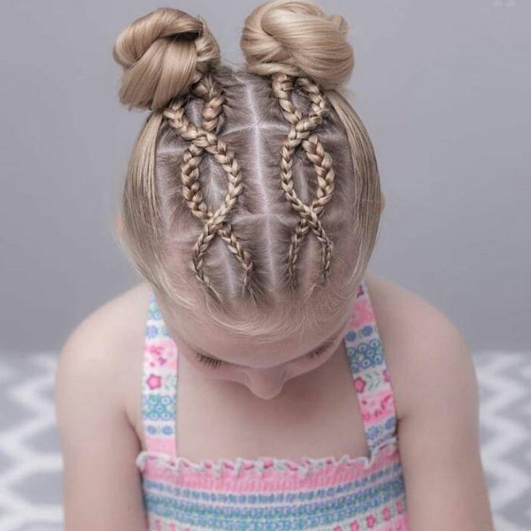 90 penteados para crianças e lindos tutoriais para copiar em casa ... e70d1501940