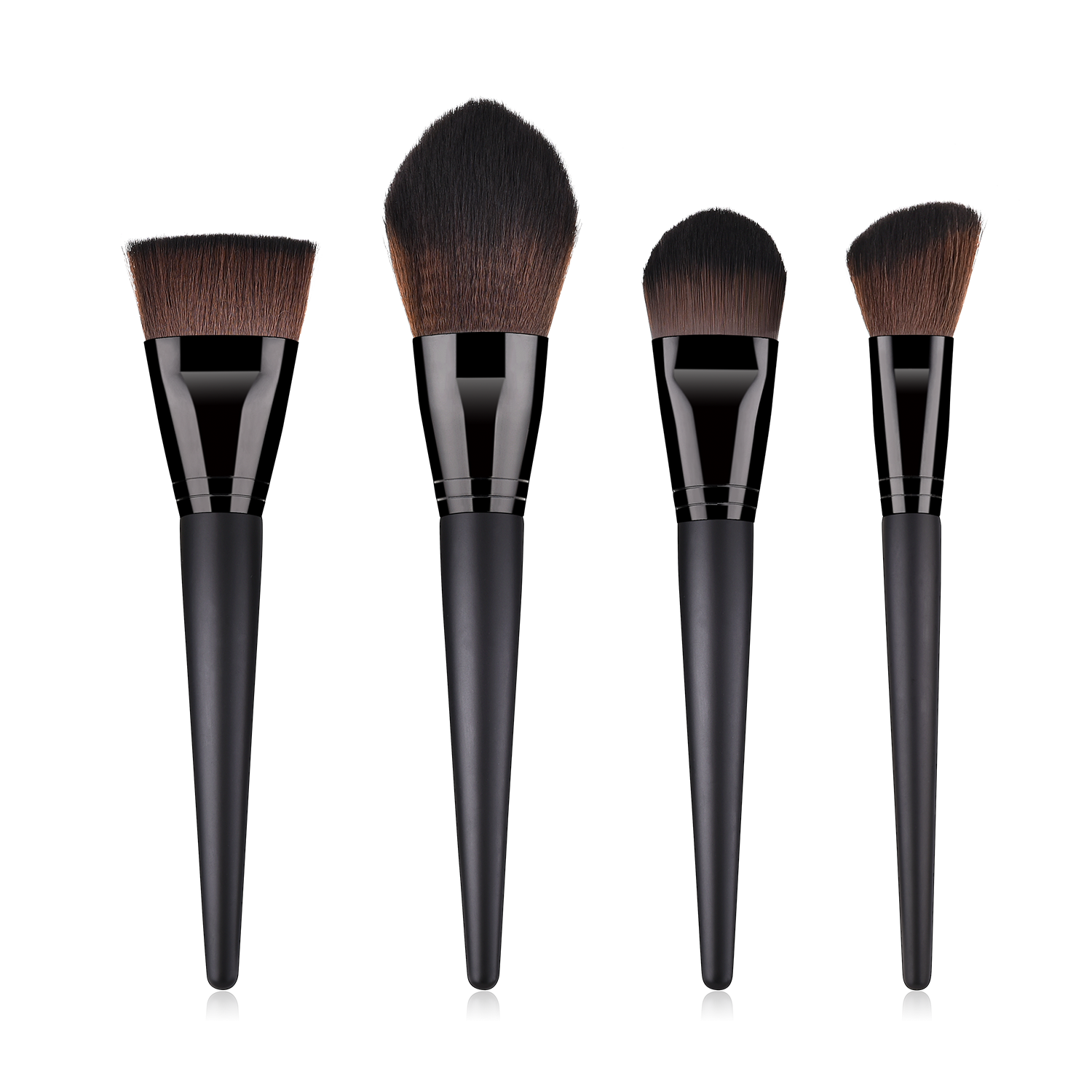 Makeup facial brushes set including contour,powder