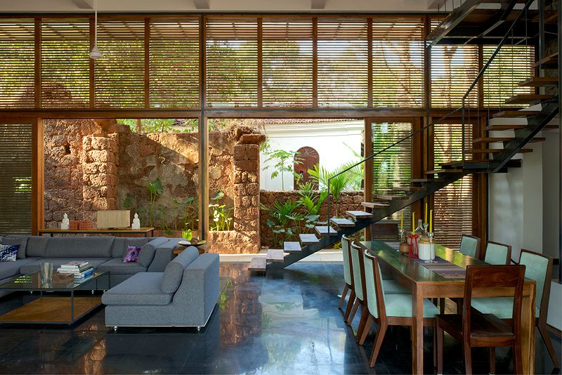 Roof Design Ideas: Eco-Friendly Country Home I Aldona, Goa Indian Homes