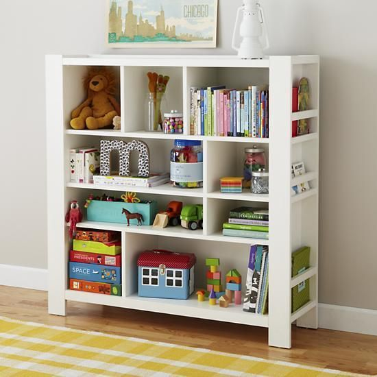 Compartment Department Bookcase White By The Land Of Nod