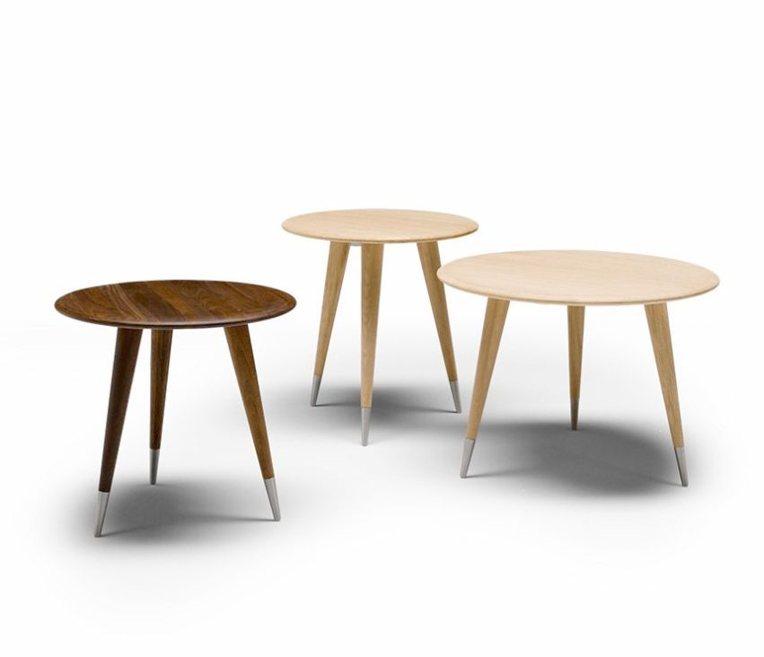 Retro Round Coffee Tables From Denmark