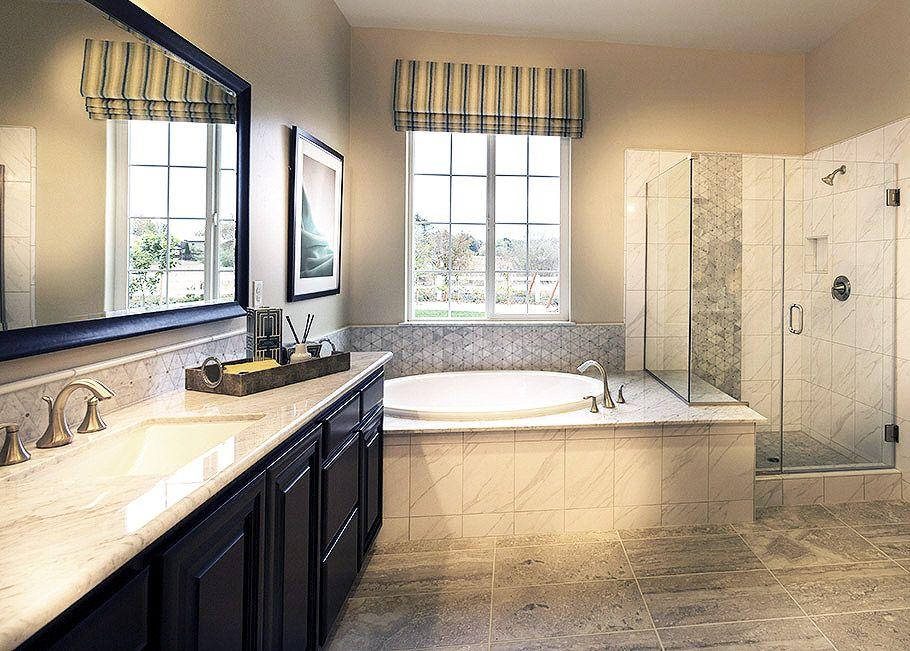 California Bathroom granite bay, california - beautiful black and white master