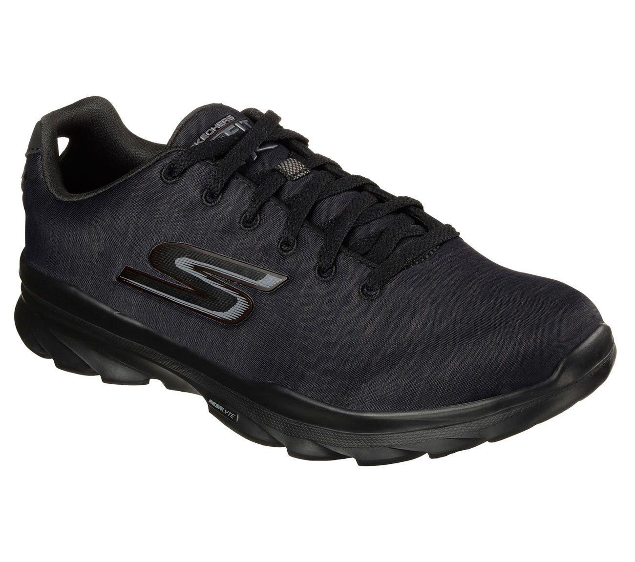 Details about 14086 Black Skechers Shoes Go Fit Women's