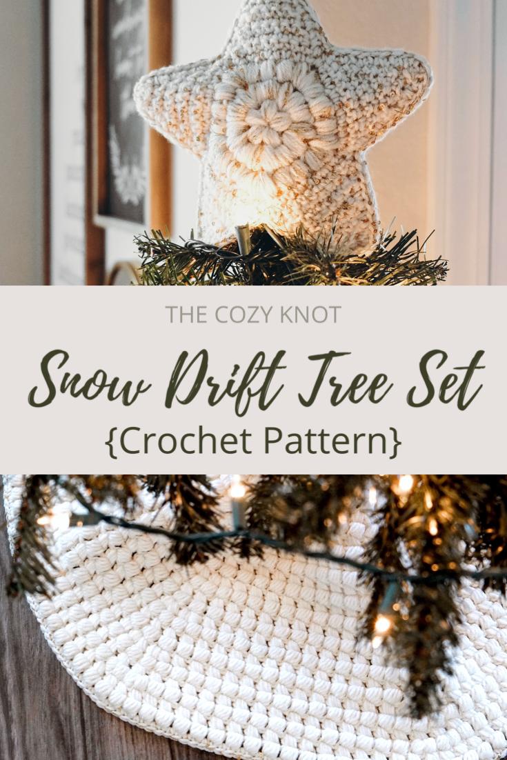 CROCHET PATTERN // crochet modern farmhouse christmas tree ...