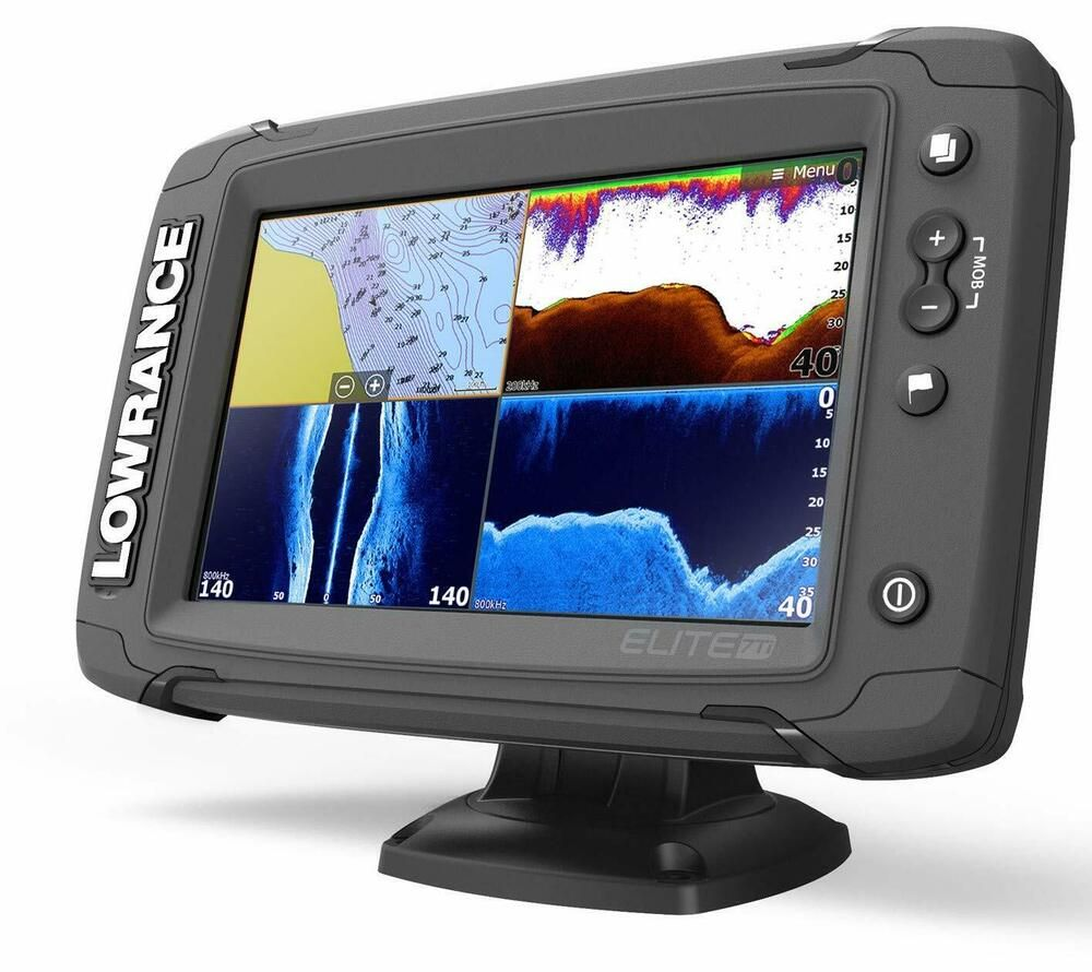 Ad Ebay Lowrance Elite 7 Ti Touch Combo W Totalscan Transom Mount Transducer Ebay Transducer Depth Finder