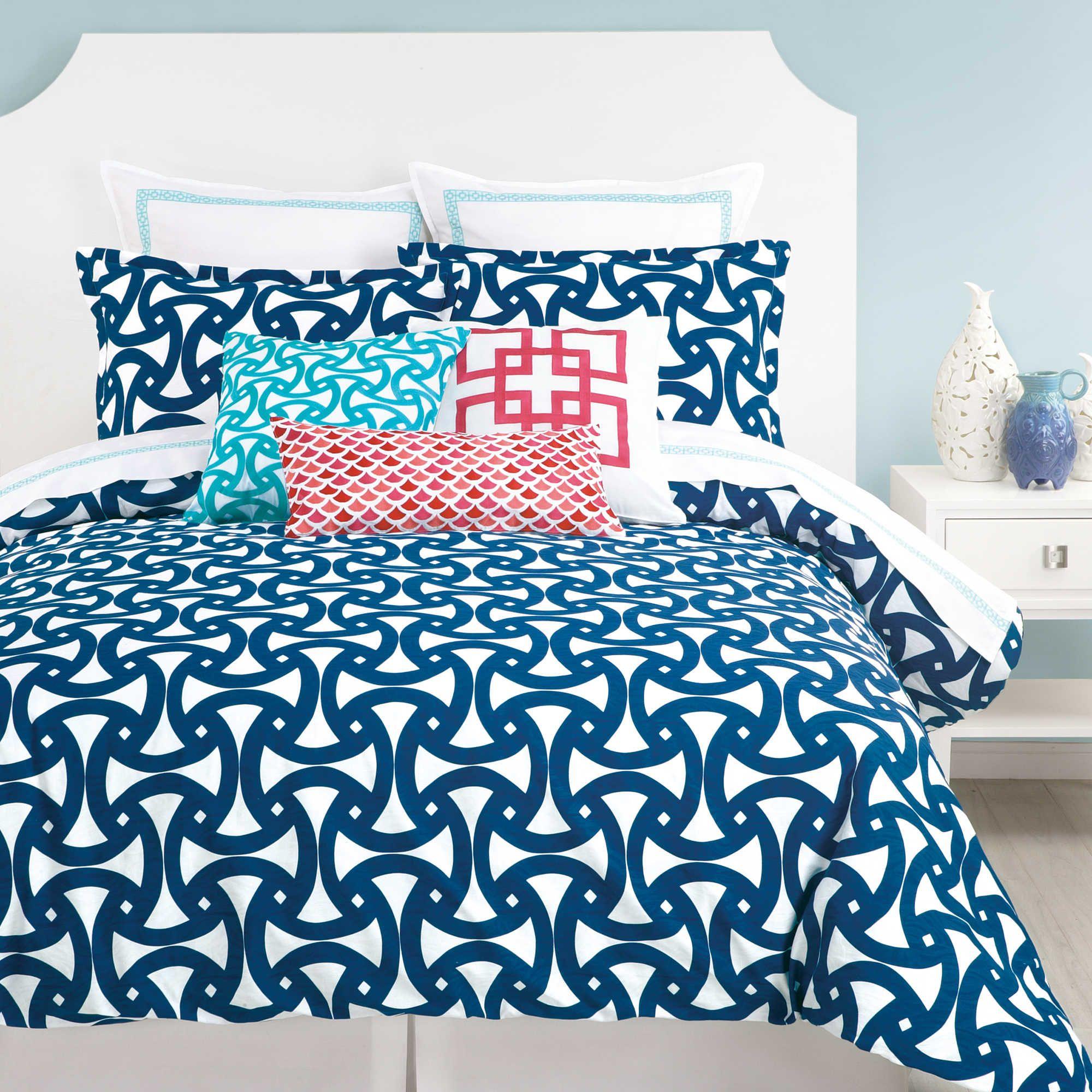 Trina Turk Santorini Duvet Cover Set With Images Comforter