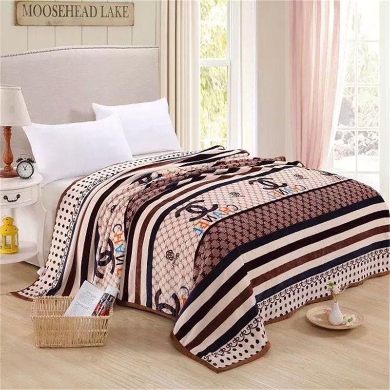 LASCHEL BLANKET Thick Soft Blankets Nap Bed Cover Sheet Woolen Blanket Quilt