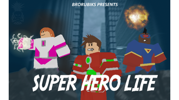 Super Hero Life 3.9.5, a Free Game by BroRubiks ROBLOX