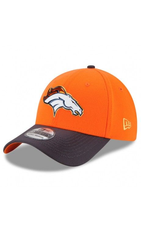 d11bebd1 NFL Men's Denver Broncos New Era Orange/Graphite Gold Collection On Field 39THIRTY  Flex Hat