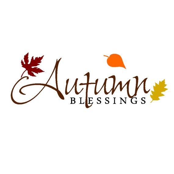 Beautiful Autumn Word Art Beautiful on floating glass