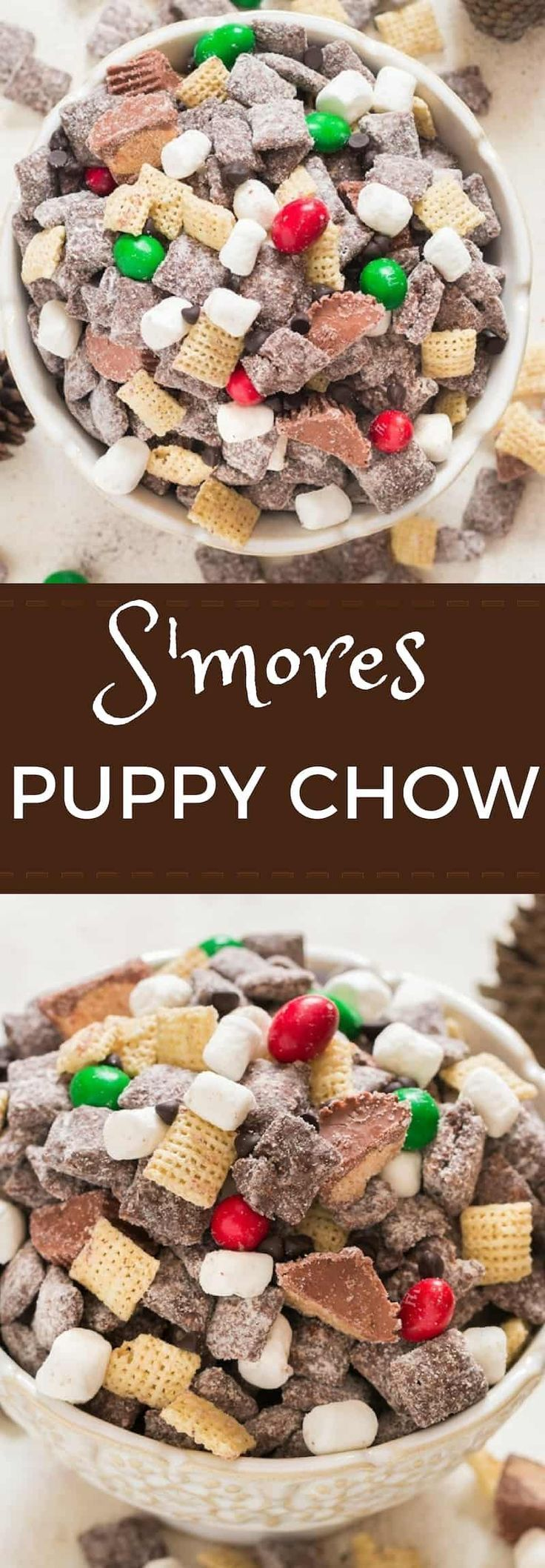 S'mores Puppy Chow Recipe Chex mix recipes, Puppy chow