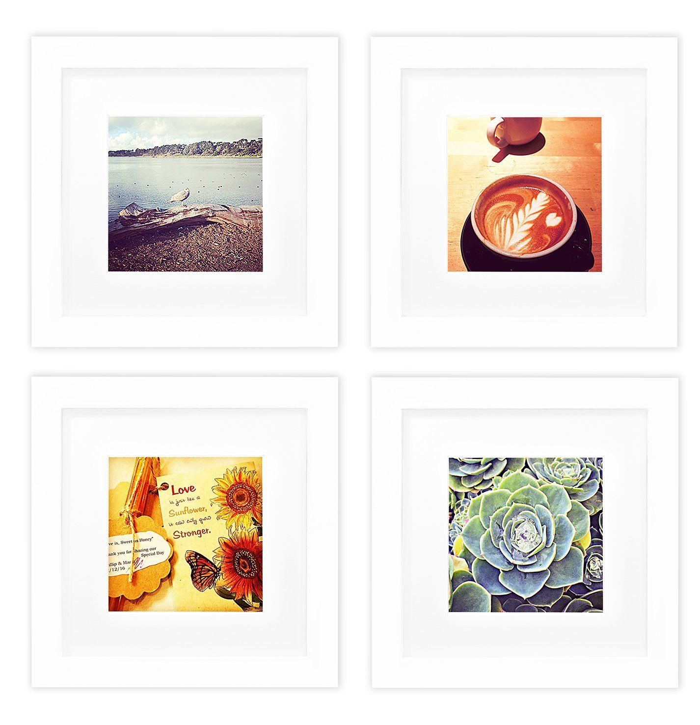 Golden State Art, Smartphone Instagram Frames Collection, Set of 4 ...