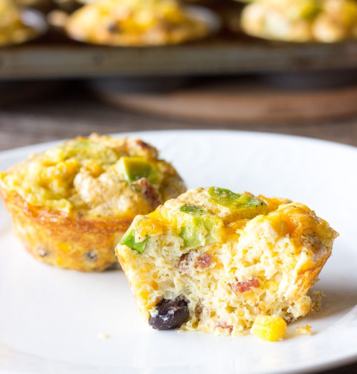 Mexican Breakfast Cups - The Wholesome Dish