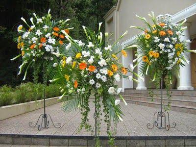 Arreglos florales con pedestal parte 1 arreglos - Pedestal para plantas ...