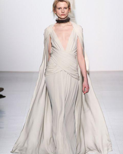 los vestidos de novia de new york fashion week 2017: dennis basso