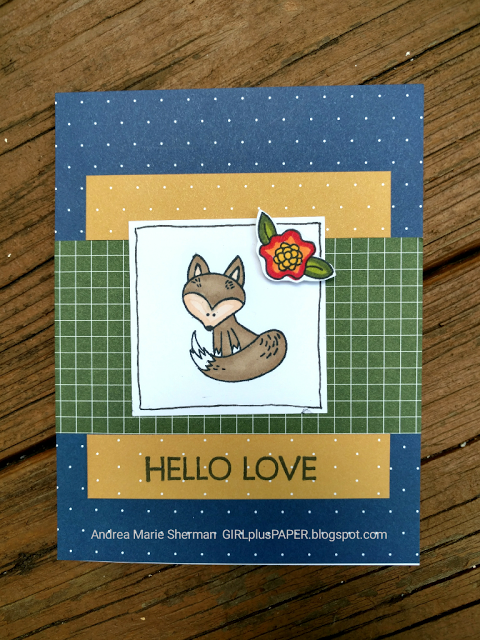 GIRLplusPAPER: CTMH Convention Swap Cards featuring Hello Foxy