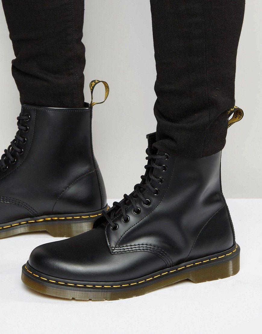 aed0d31d41963c DR MARTENS ORIGINAL 8-EYE BOOTS 11822006 - BLACK.  drmartens  shoes ...