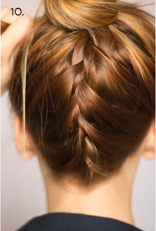 Braid Up The Back Section Out A Section Of Hair That Goes From Ear To Ear And Down To The Base Of Your Neck C Hair Styles Braids For Long Hair