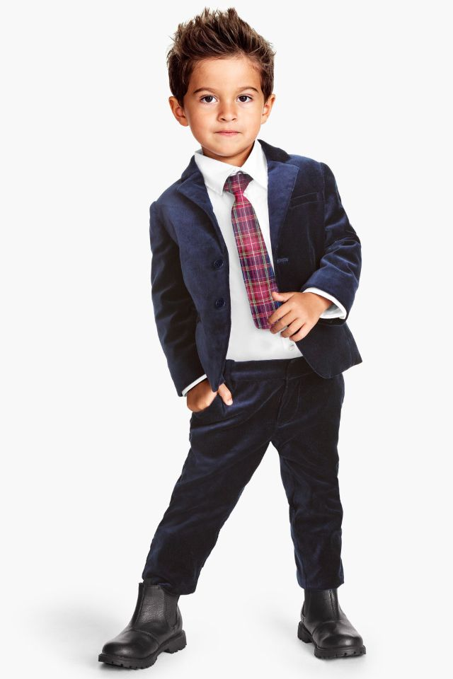 H&m kids sharp suit Perfect for Christmas!! :O