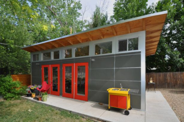 Guest And Art Studio With Garage: Studio Shed Lifestyle   Contemporary    Garage And Shed   Denver   Studio Shed