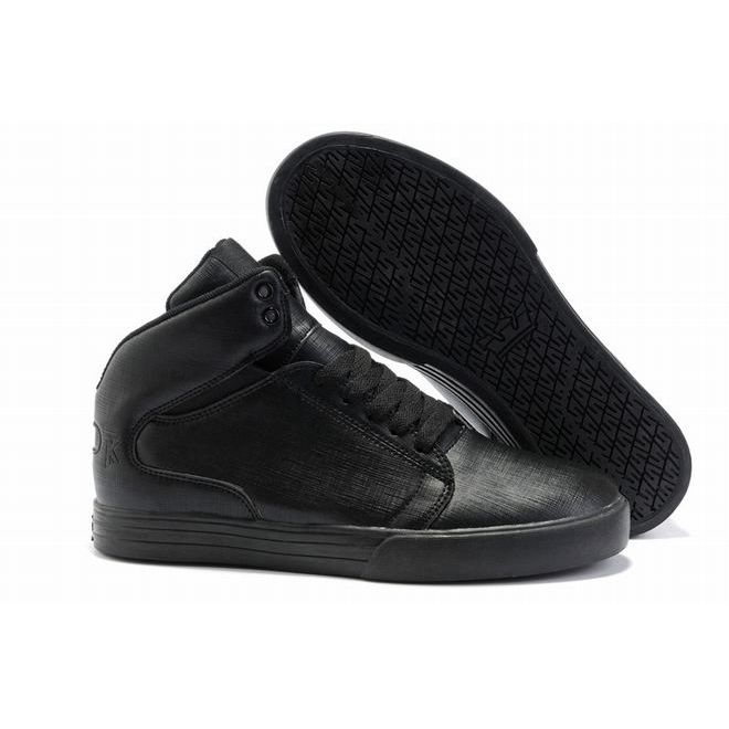 all black supra tk society mid for women