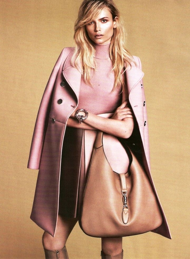 Natasha Poly by Mert  Marcus for Gucci Fall 2014 _