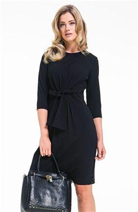 167-4305 Siyah Elbise