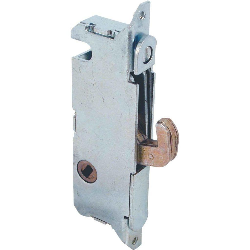 Crl White Sliding Glass Door Handle With Mortise Lock