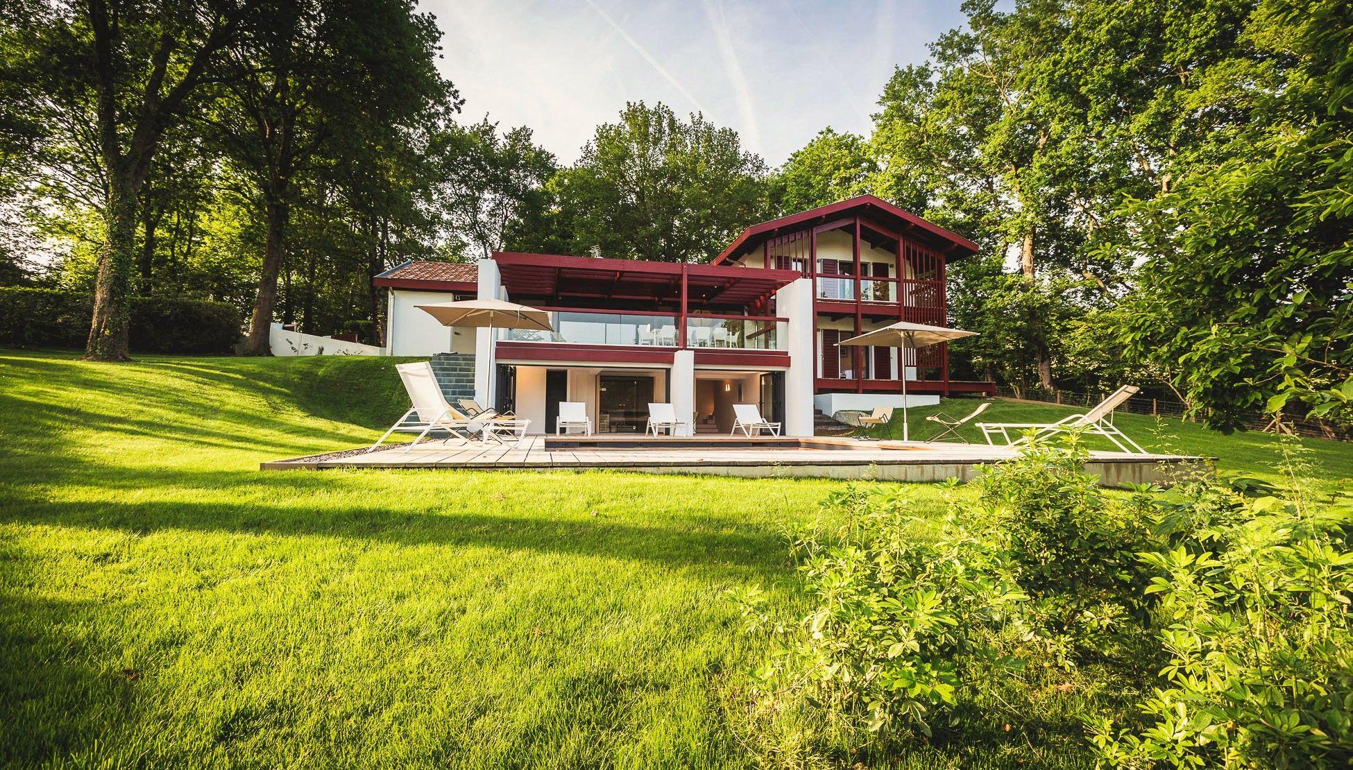 La Villa d Euskara Maison Houses Casas Pinterest