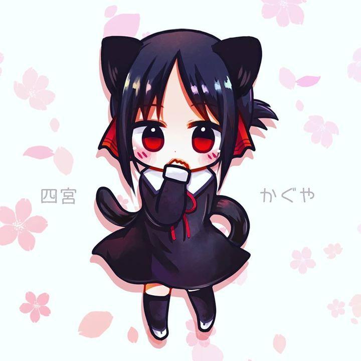 Ara ara how cute kitty kaguya from kaguyasamaloveiswar