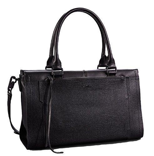 Calvin Klein Aura Textured Satchel Handbag Tote Bag Black Dp B00xlvb7de Ref Cm Sw R Pi F5iywb13670qb