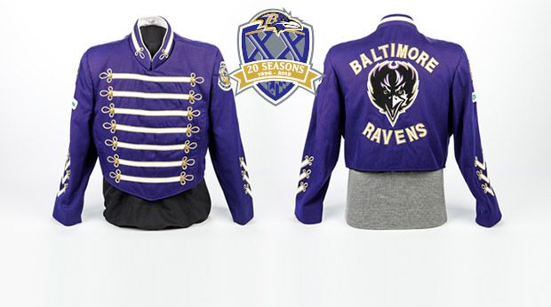 20 Ravens Relics In 20 Years: Baltimores Marching Ravens Uniform