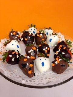During Your Halloween Party Serve Spooky Berries To Your Ghoulish