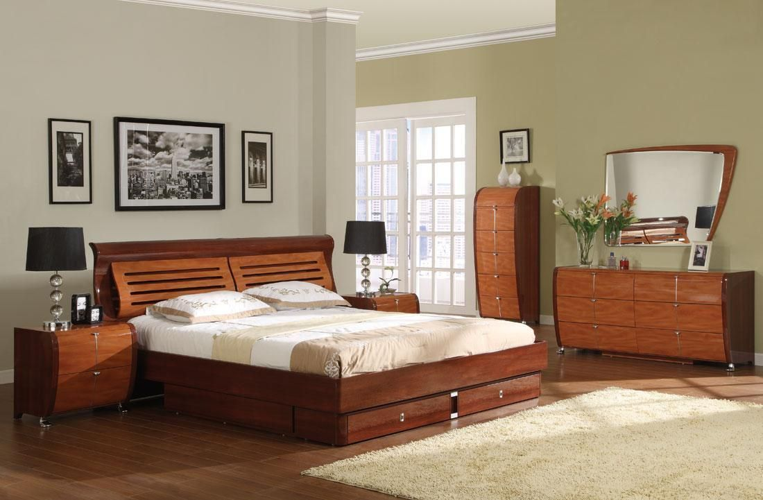 Bedroom Sets With Low Headboards