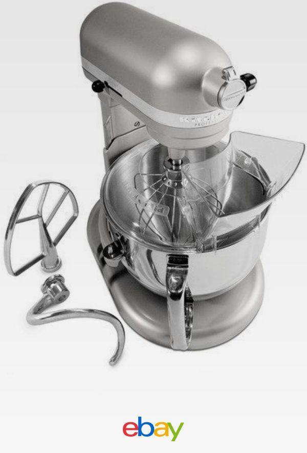Kitchenaid Rkp26m1xnp Pro 600 Stand Mixer 6 Qt Nickel