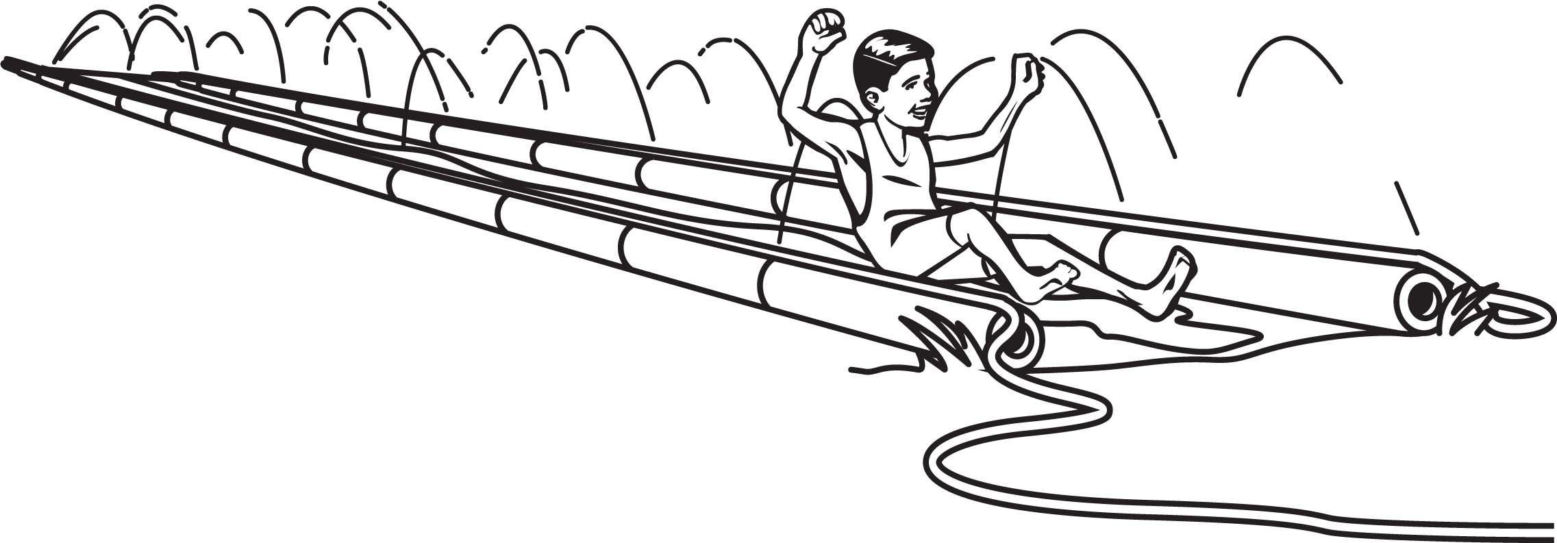 Build An Awesome Diy Slip N Slide For Summer Fun Slip N Slide