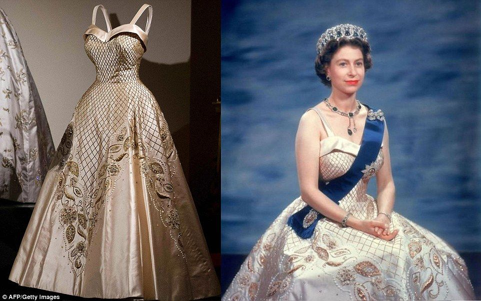Dresses that ruled Britain Secrets of the Queen's outfits