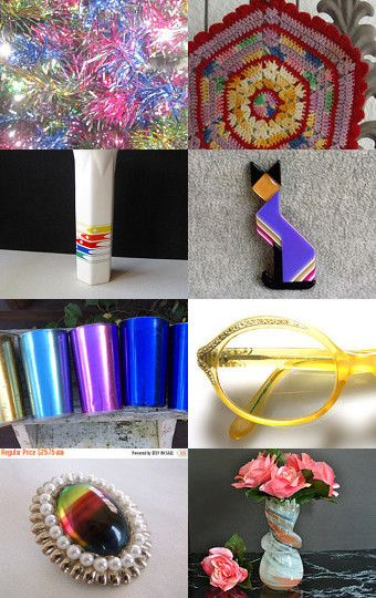 The colors of a Rainbow.......... by Carol Schultz on Etsy--Pinned with TreasuryPin.com