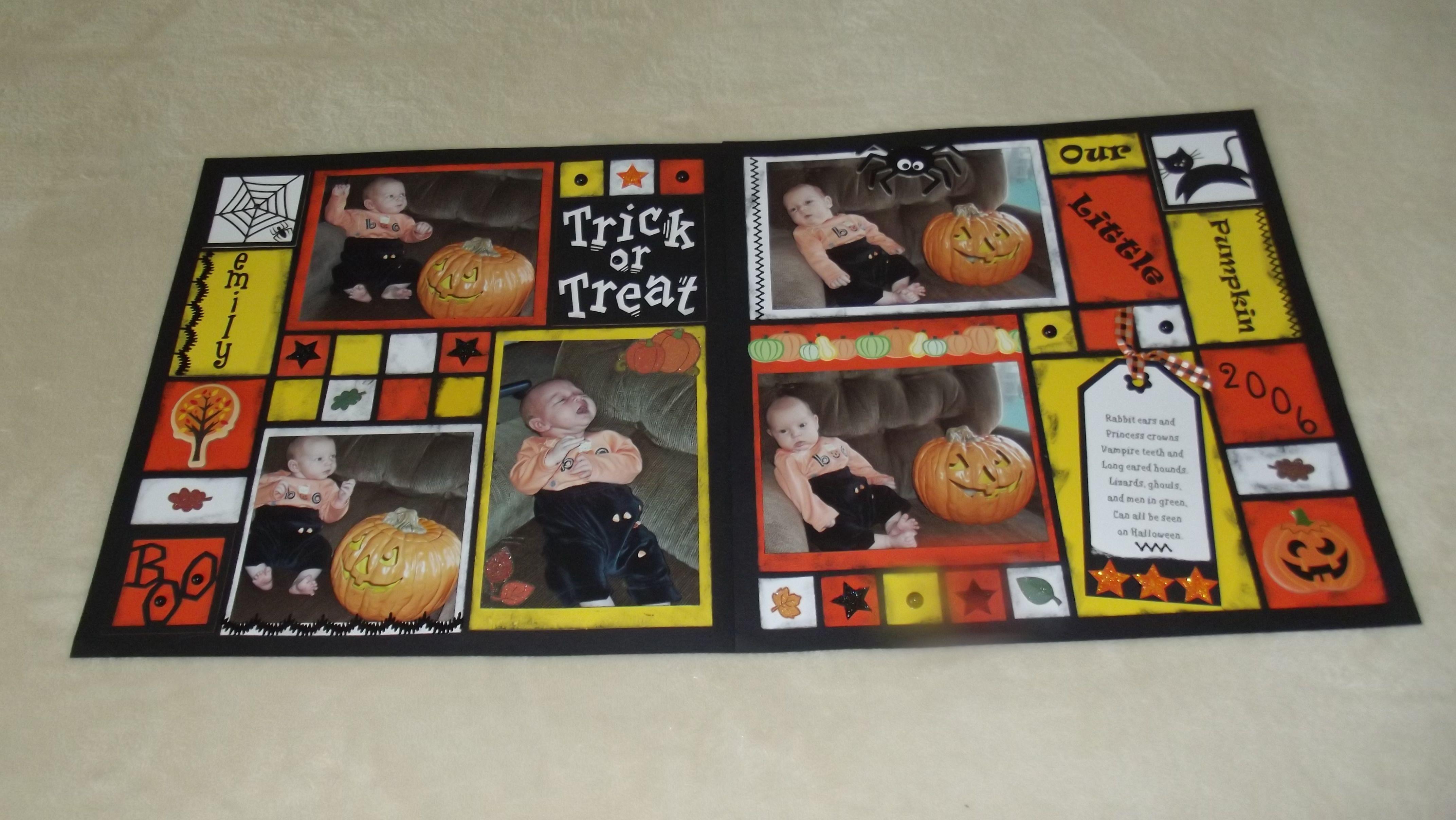 Our little pumpkin trick or treat little pumpkin